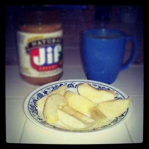 breakfast apples