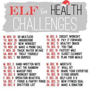 elf for health challenge